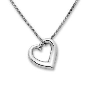 James Avery Freeform Heart Necklace